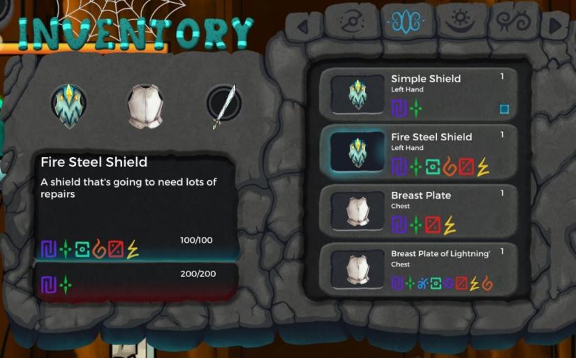 Armor Inventory