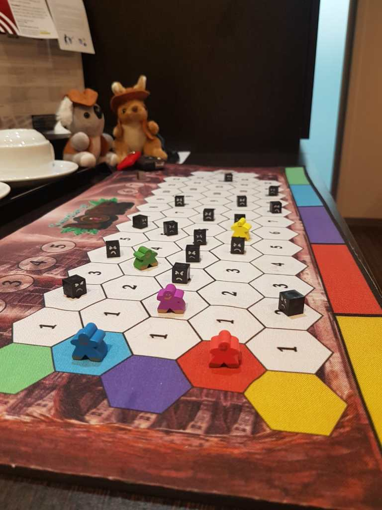 guardian of lore board game at pax aus festival